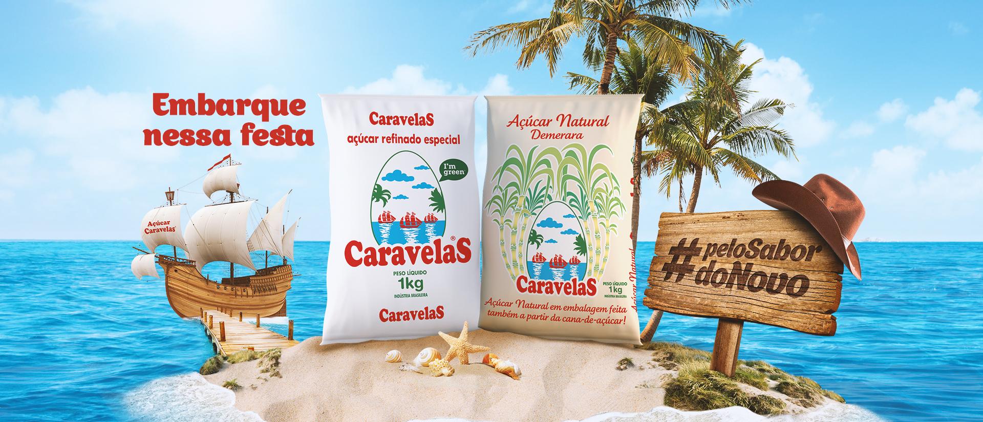 Açúcar Caravelas #pelosabordonovo